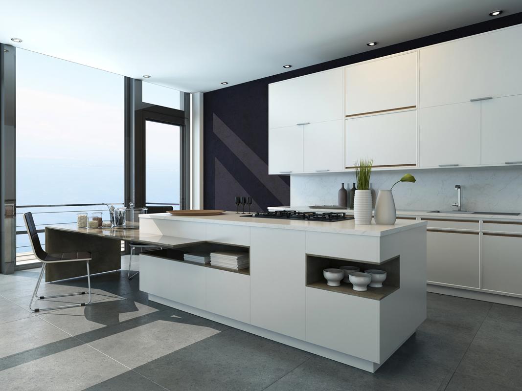White Island Storage Kitchen